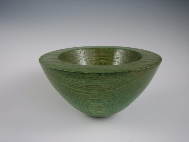 dyed ash bowl