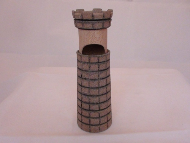 castle shaped piston box