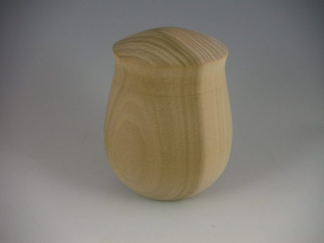ginger jar from poplar