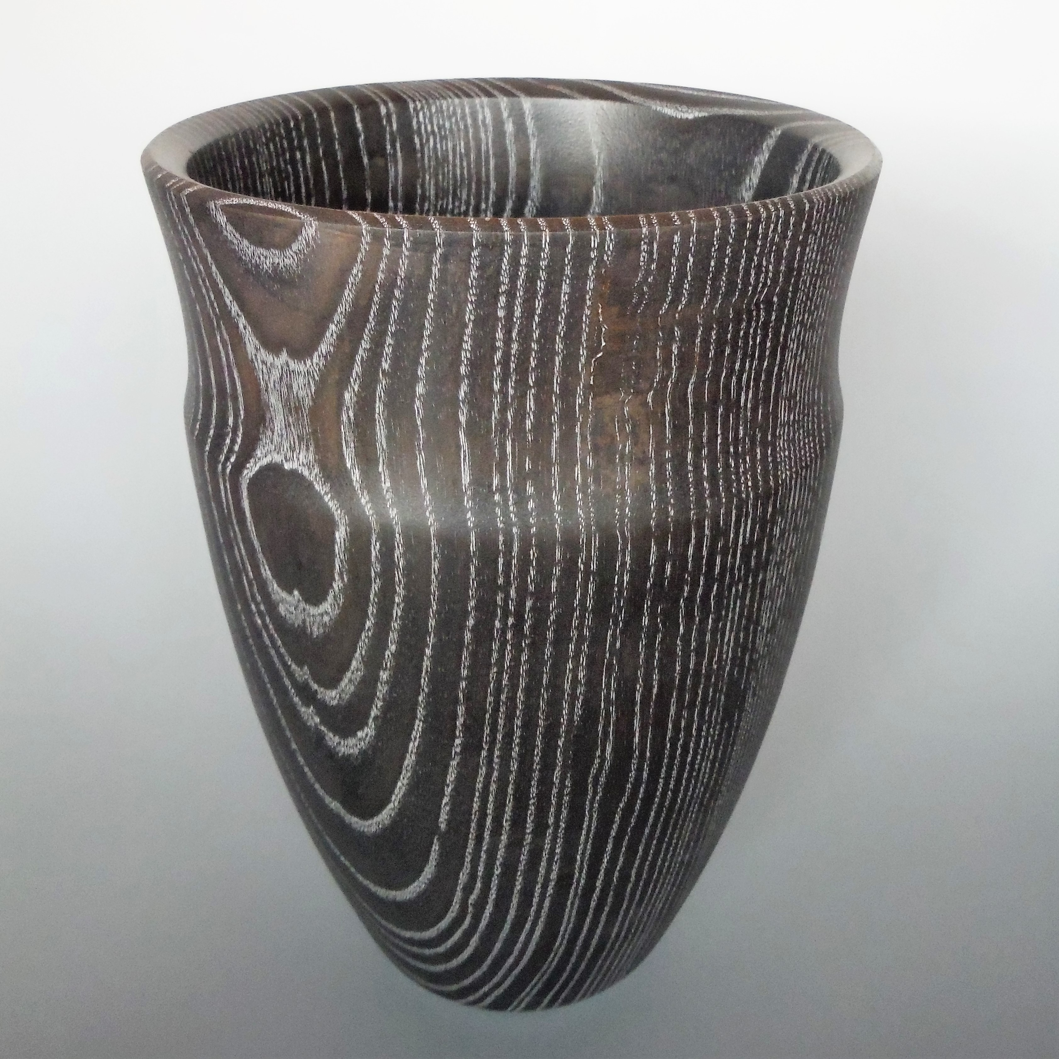 large dyed ash vase
