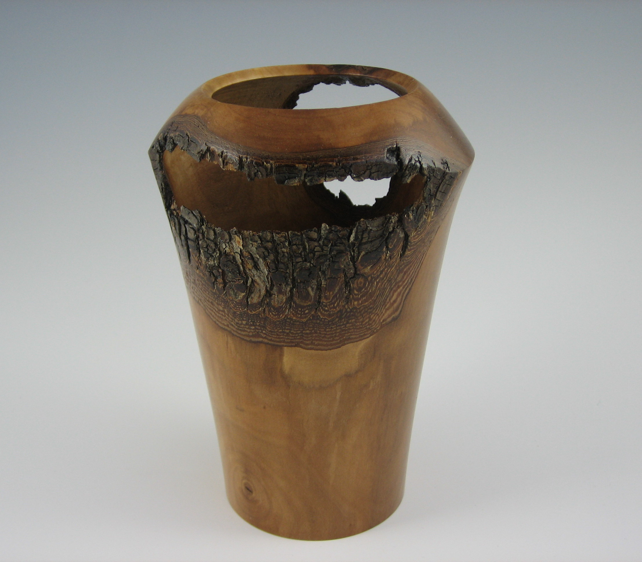 hollow form vase