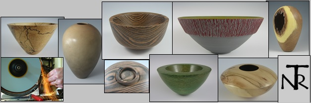 A sampling of NTR wood-turnings