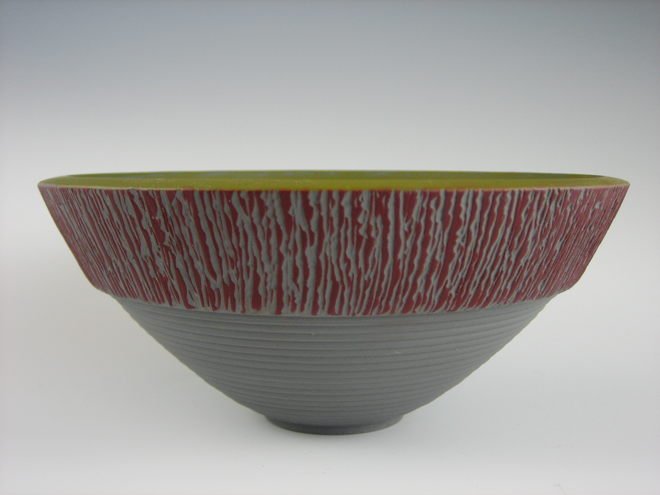 painted bowl from poplar